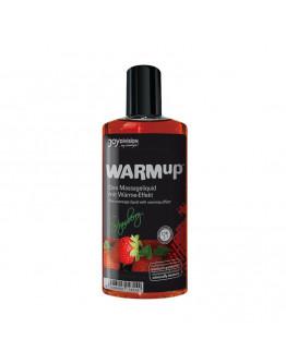 WARMup masāžas eļļa ar zemeņu aromātu, 150ml