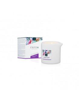 Exotic ar violeto rožu aromātu masāžas svece,200ml